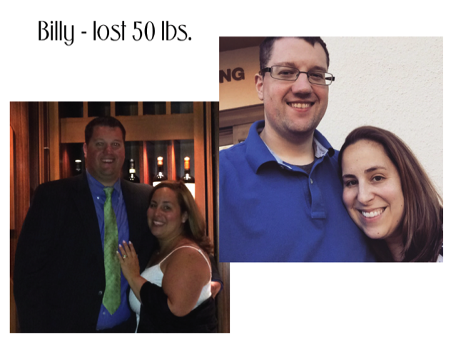 Weight Loss Success, Before and After